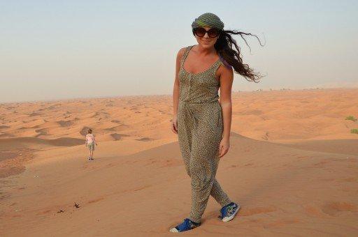 Dubai, deserto, Emirati Arabi
