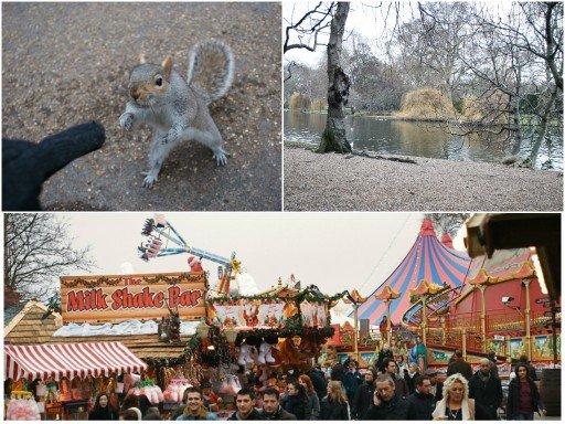 Londra mercatini di Natale a Hyde Park