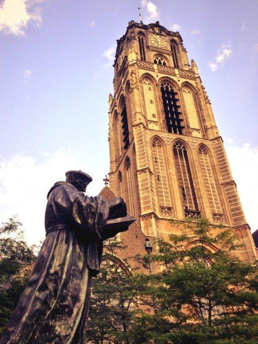 Rotterdam statua erasmo