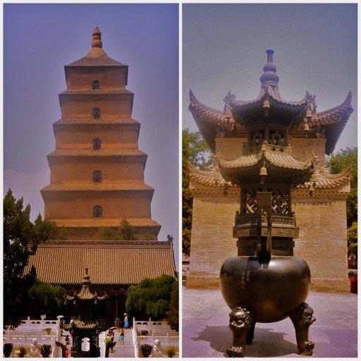 Xi'An è molto suggestivo fare visita alla Pagoda dell'Oca Selvaggia