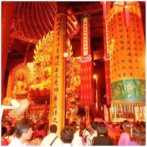 Shanghai, Tempio Longhua