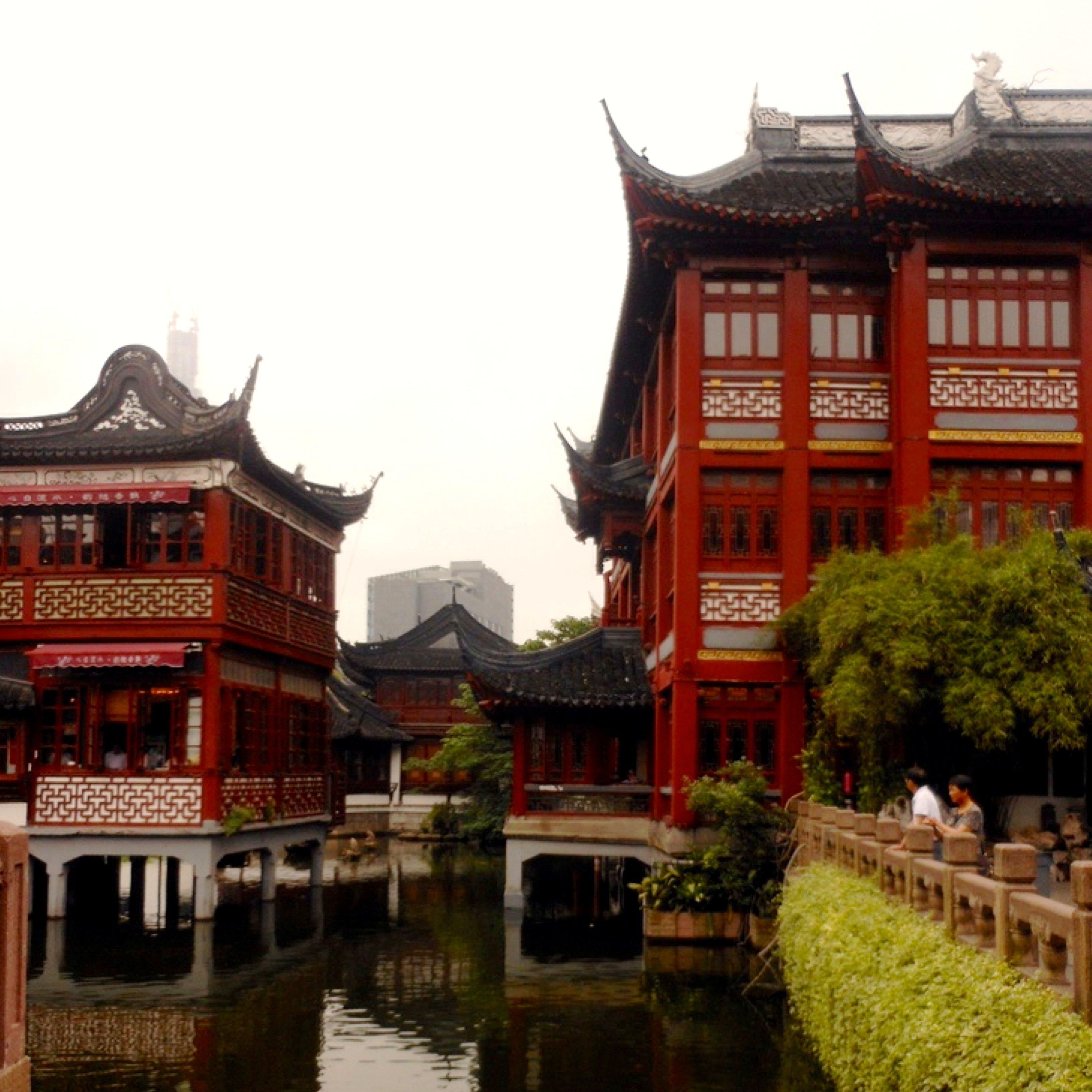 Viaggio a shanghai cosa vedere blog di viaggi - Giardino del mandarino yu ...
