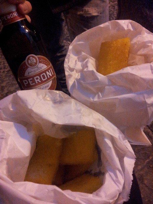 Bari e lo street food: sgagliozze