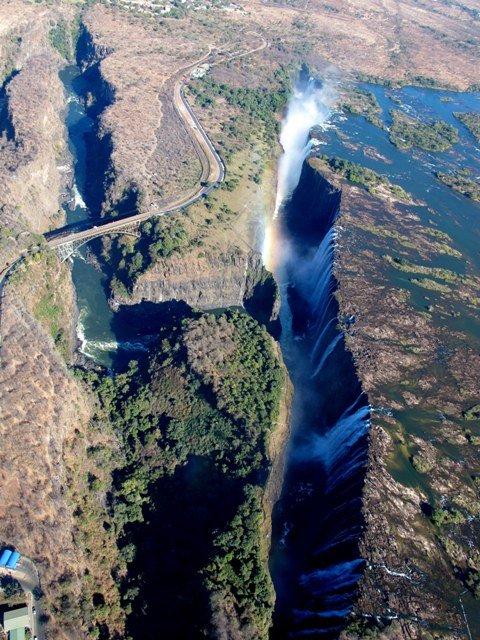 Victoria Falls Veduta aerea 3