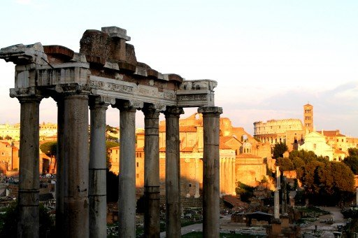 Vista da Piazza Campidoglio sui fori (risposta n.3)