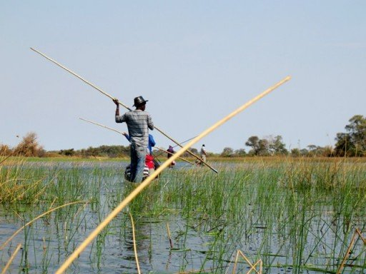 mokoro, delta dell'Okavango