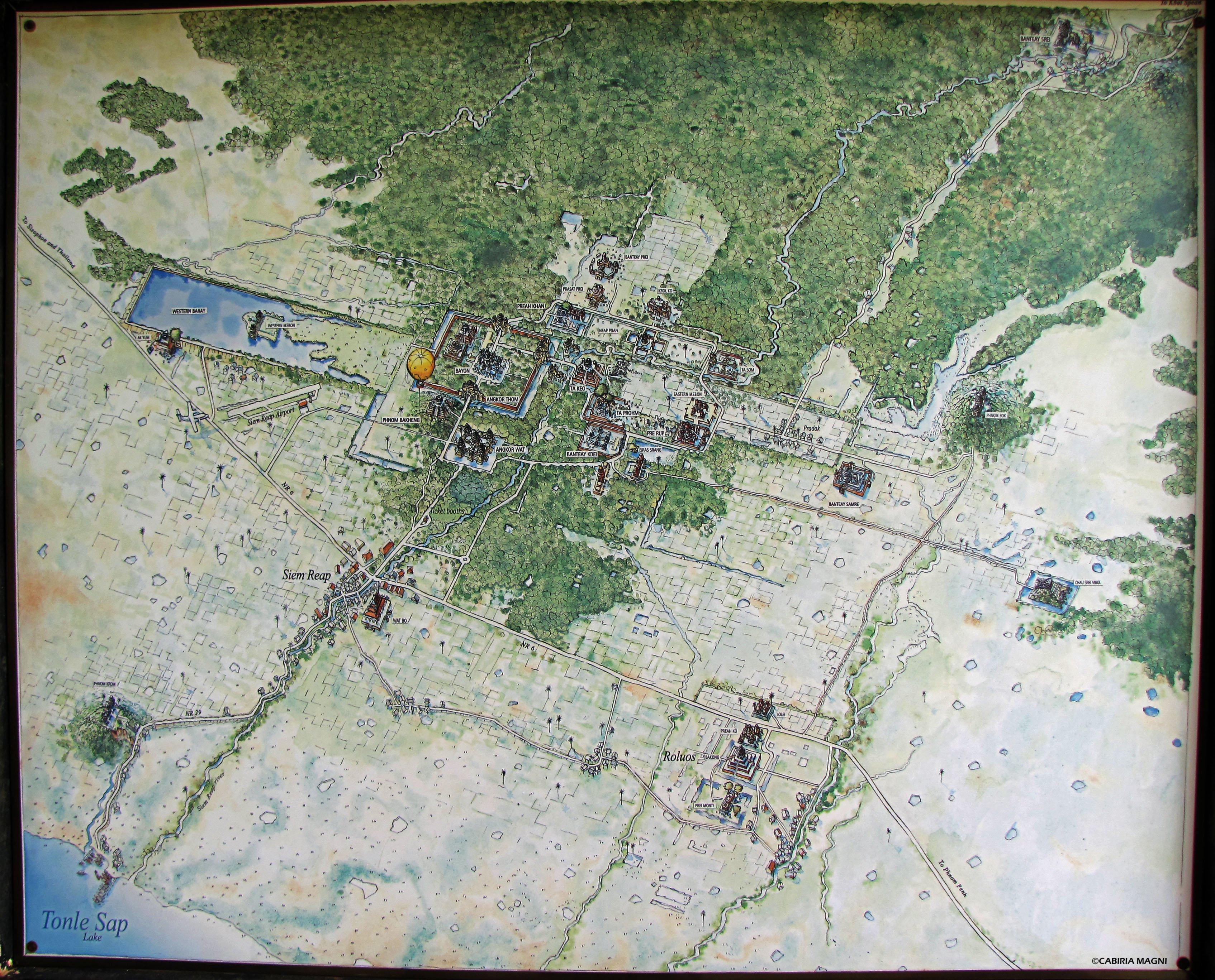 Angkor Wat site - cambogia