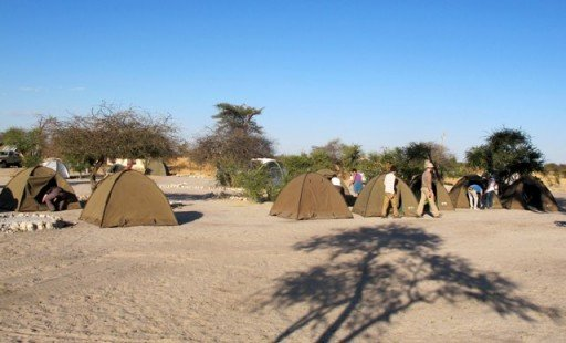 Elephant Sands Campsite  Botswana