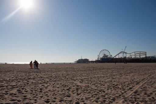 Los Angeles, Santa Monica Beach