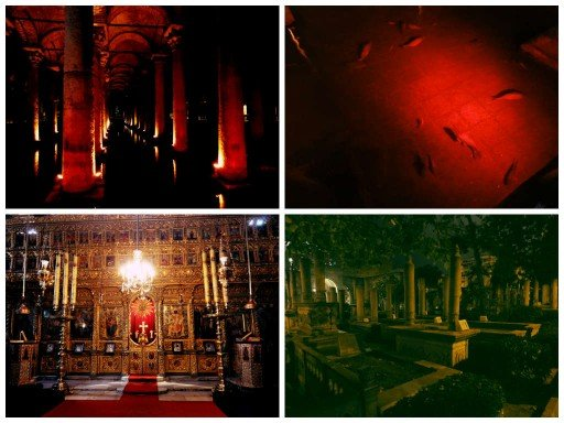 Cisterna-patriarcato ecumenico-cimitero ottomano - instabul