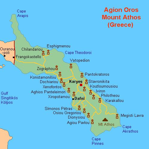 Monasteri di Monte Athos