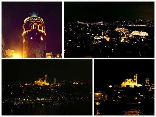 Torre Galata-Ponte sul Bosforo-vista- Insanbul
