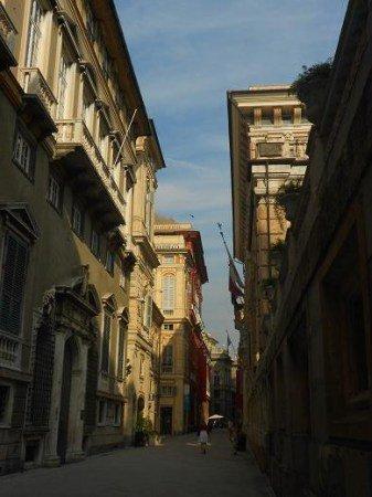 Via Garibaldi - Palazzi dei Rolli