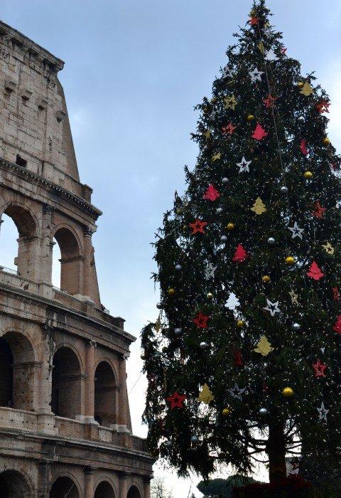 Albero Natale Piazza Roma