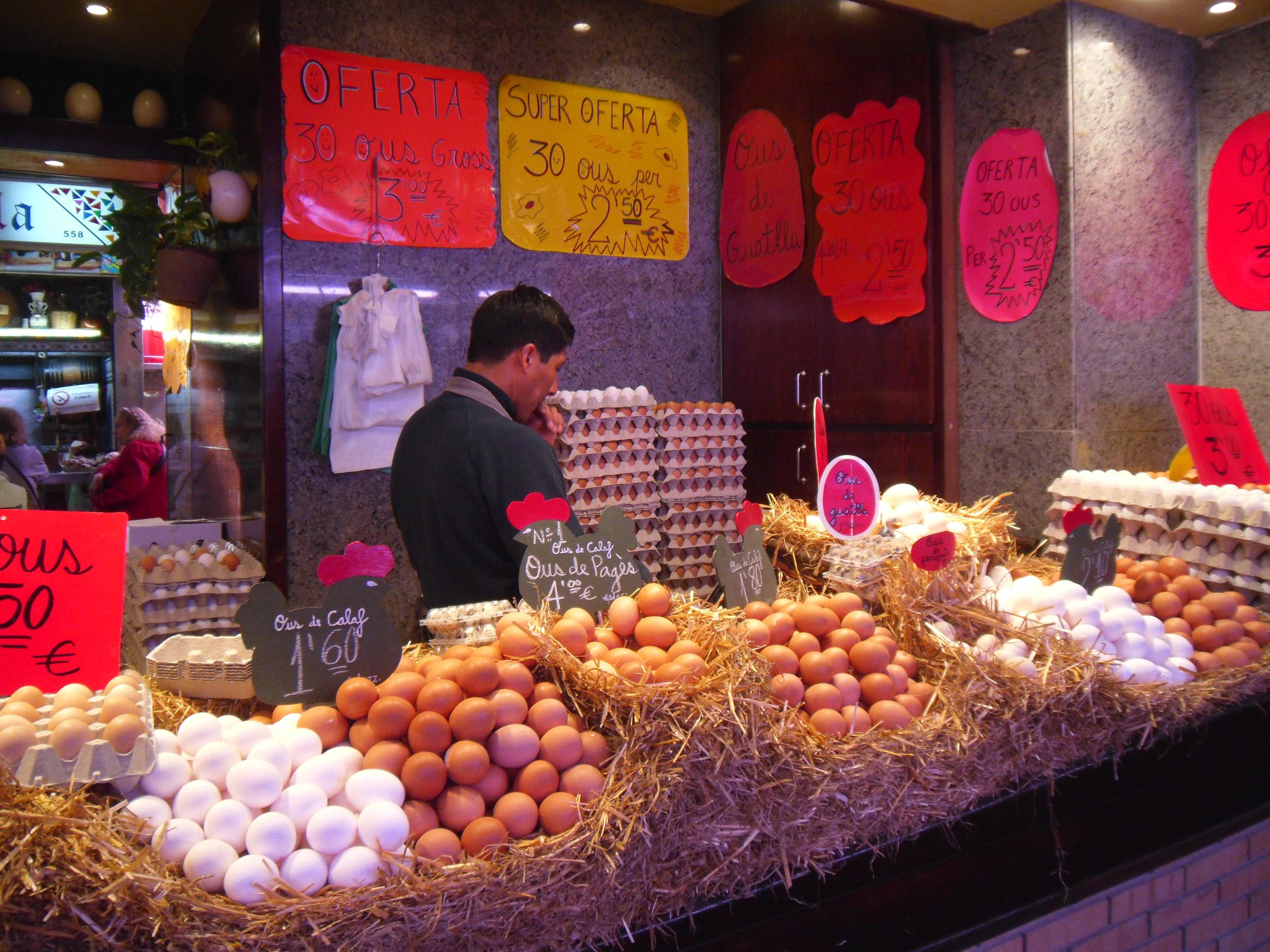 mercato la boqueria - Barcellona