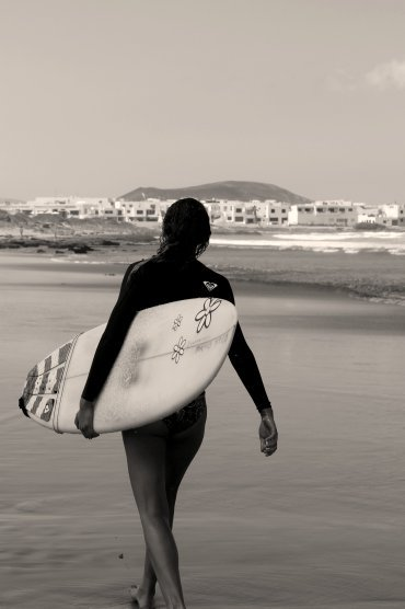 surf in lanzarote