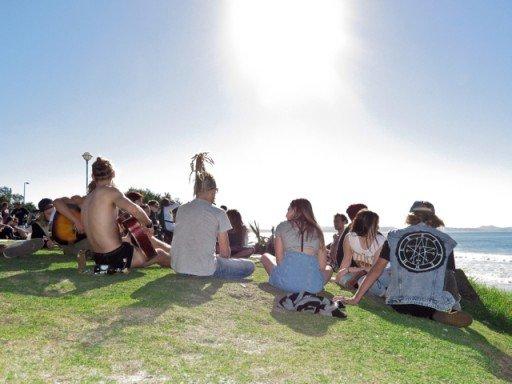 hippies Byron Bay, Australia