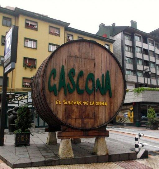 Oviedo la via del sidro