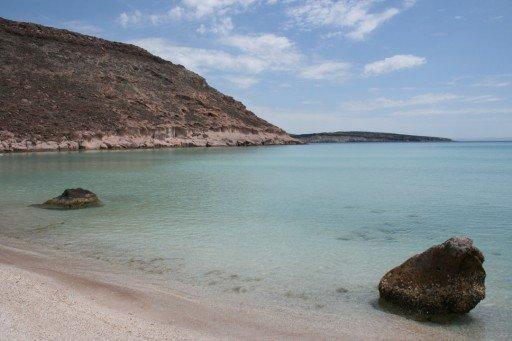 Isla dell'Espiritu Santo spiagge messico