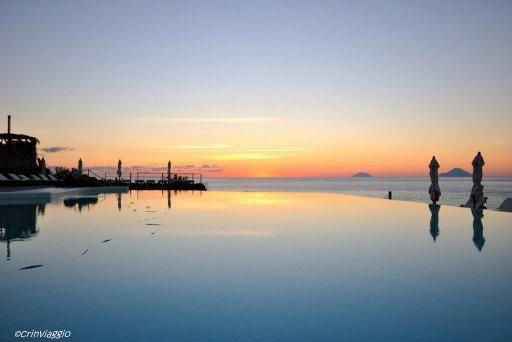 Vulcano tramonto