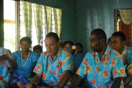 cerimonia al villaggio