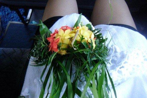 ghirlanda di fiori fiji