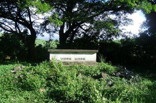 tomba del cannibale, fiji