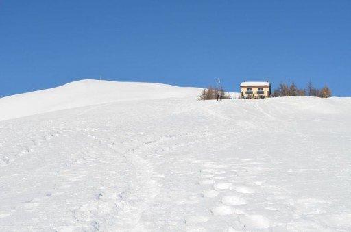 1 Capanna e cima Monte Bar
