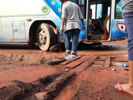 Autobus Cambogia