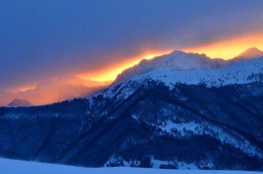 5 Luci del mattino 1 Capanna e cima Monte Bar