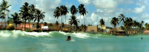 Surfing in Maceio Brasile