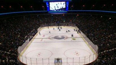 Partita alla Rogers Arena