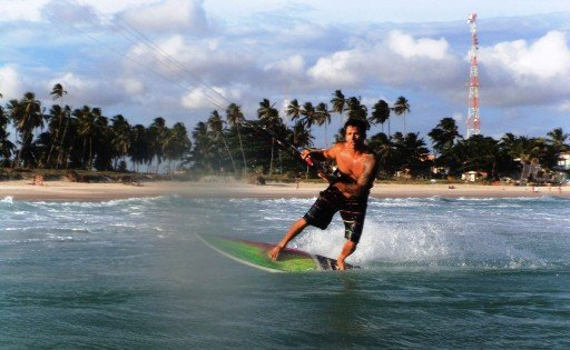 kitesurfing Brasile
