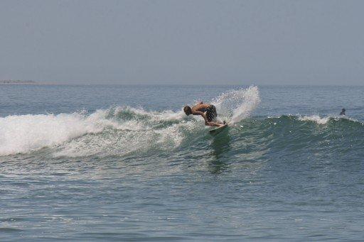 Surfista a Las Pocitas