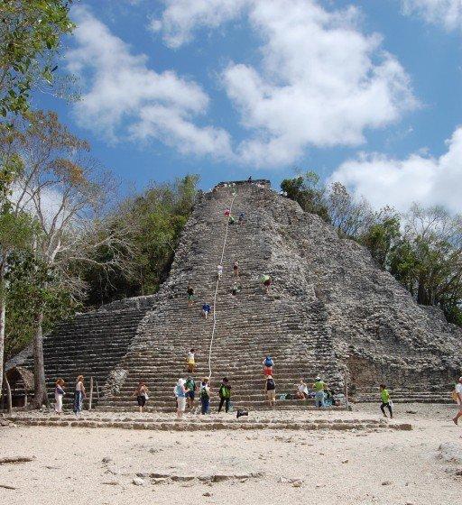 piramide coba messico
