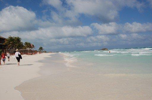 playa paraíso messico