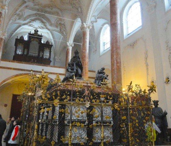 Innsbruck Chiesa di Corte