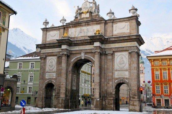 Innsbruck  Arco di Trionfo