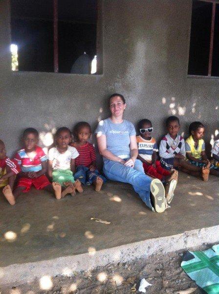 la mia classe del villaggio 14 durante la ricreazione