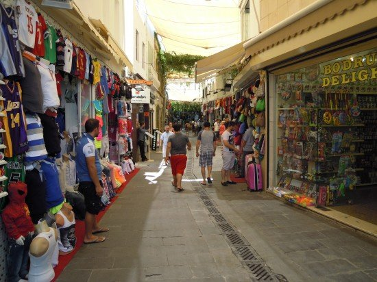 Bodrum shopping