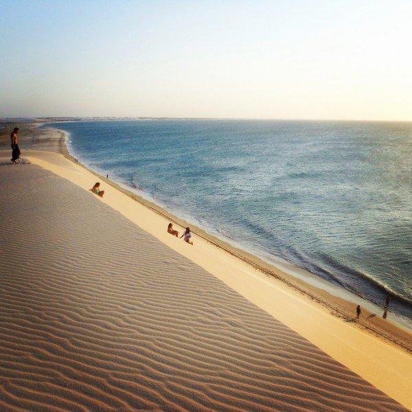 Brasile Nord Est - duna por do sol