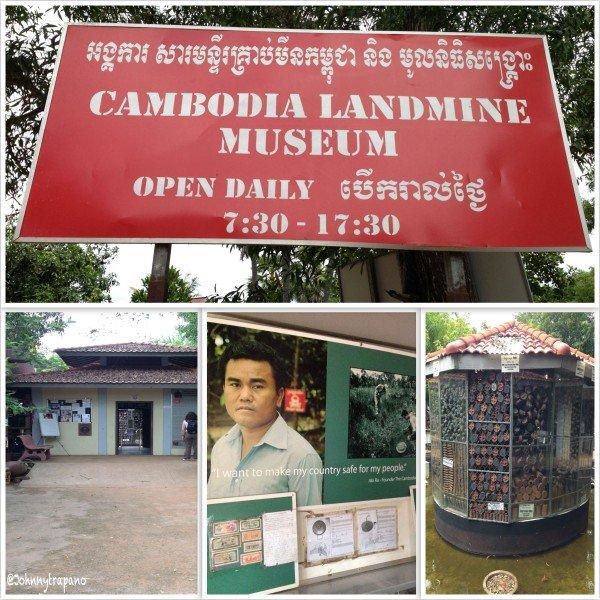 Landmine Museum light