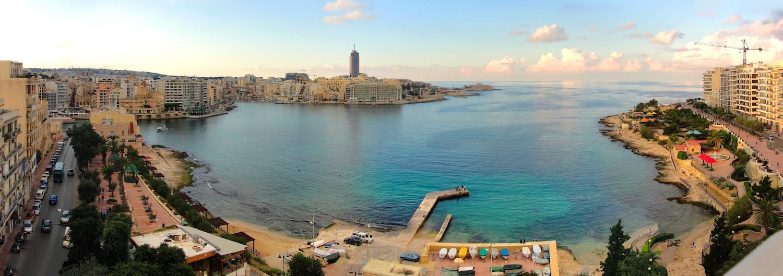 Sliema Promenade Panorama - Malta