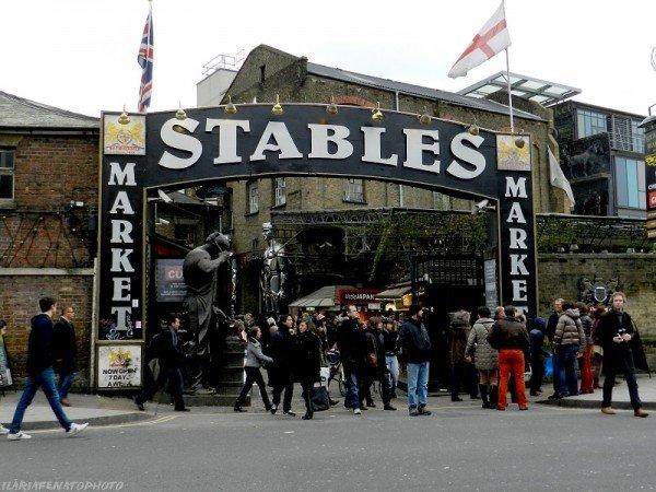 Stables Market, Camden Town Londra