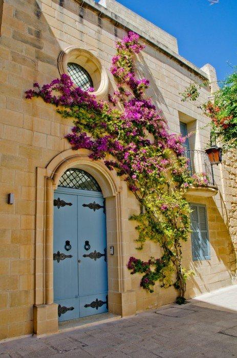 Street in Mdina , Malta