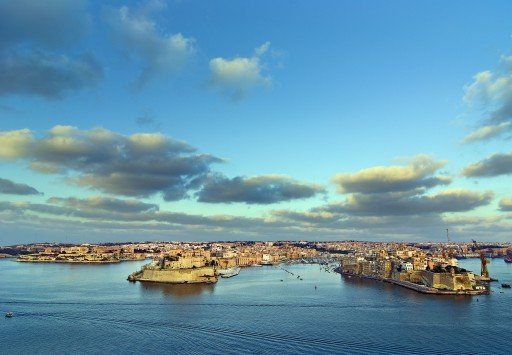 The Grand Harbour La Valletta
