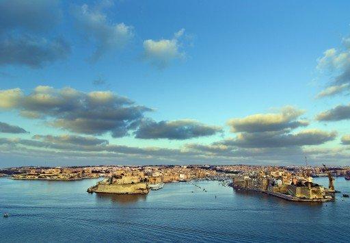 The Grand Harbour La Valletta