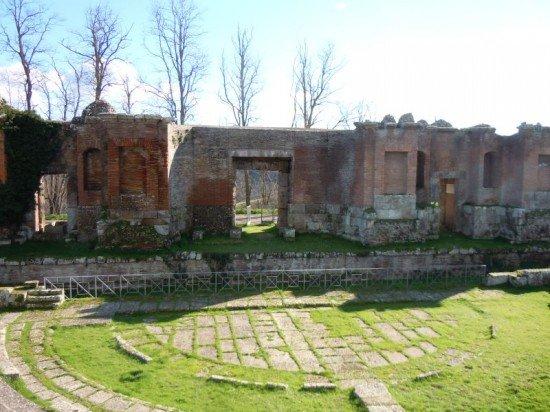 proscenio teatro Montefiascone