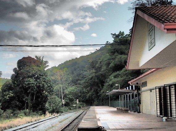 Sabah Borneo Malese, ferrovia
