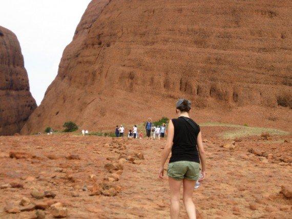 Outback Australia trekking